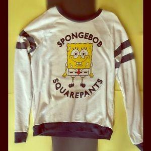 Long-sleeved Spongebob shirt